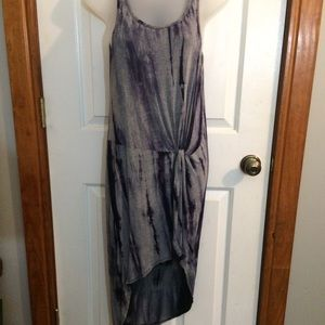 Charlotte Russe Boho Tie-die Dress